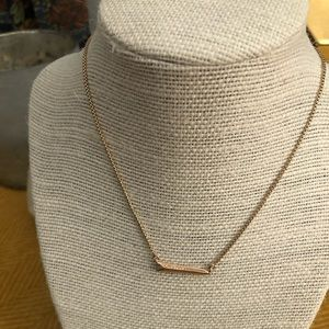Kendra Scott Elliot Necklace- Rose Gold